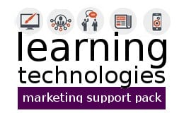 Learning technologies marketing support pack