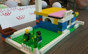 Scrum delivered Lego house