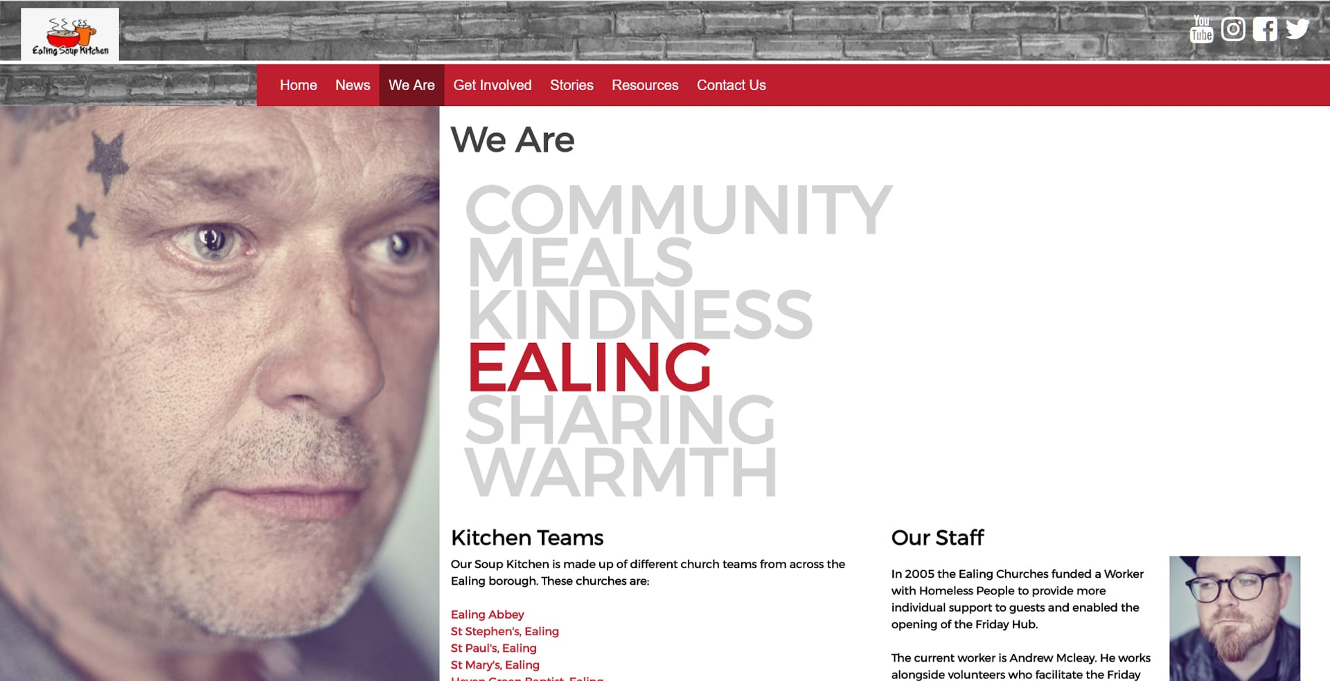 Ealing Soup Kitchen - B2B marketing agency for technology sector ...